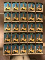 (LOT OF 25) JOSE CANSECO 1986 TOPPS TRADED #20T RC OAKLAND A'S