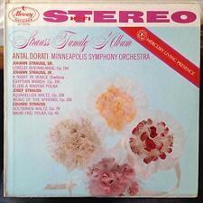 Antal Dorati - Strauss Family Album LP VG+ SR 90178 Mercury Living Stereo USA