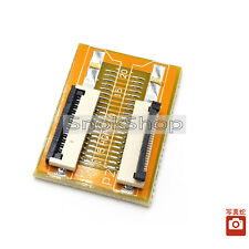 FPC FFC FLAT FLEX CABLE 1mm 34pin to 34pin INCREASING SCREEN LINE EXTENSION new