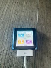 Apple iPod nano 6th Generation (8GB) Blue MINT Condition With Fault