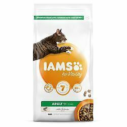 IAMS for Vitality Adult Cat Food with Salmon - 800g - 445996