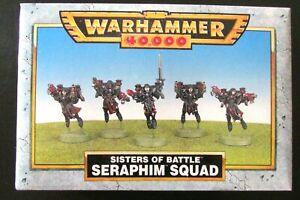 OOP Citadel / Warhammer 40k Witch Hunters / Sisters Of Battle Seraphim BNIB