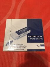 Staedtler Mars White Erasers, Box of 20 Plastic Erasers