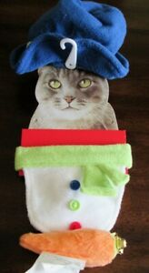 SNOWMAN Cat/Dog Christmas Costume 60%OFF CAT Costume