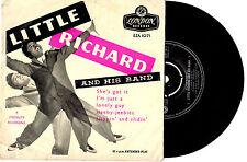 "LITTLE RICHARD - SHE'S GOT IT - RARE EP 7"" 45 VINYL RECORD PIC SLV 1957"