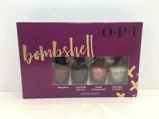 Opi - Nail Lacquer - Bombshell - Set Of 4 - 0.125 Oz. Each - New And Boxed