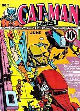 Catman Comics #2 Photocopy Comic Book