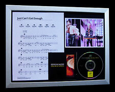 DEPECHE MODE Just Can't Get Enough QUALITY CD FRAMED DISPLAY+EXPRESS GLOBAL SHIP
