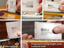 GUITAR String Action Gauge, acciaio inox, pollici-ottimo per le impostazioni accurato!