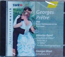 CD Ravel Daphnis et Chloe..Bizet Georges Pretre SWR RSO Hänssler 2000 neu & ovp
