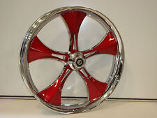 """21"""" FRONT WHEEL PACKAGE HARLEY TOURING Outlaw True Dual Finish Wheel"""