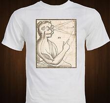 Famous Descartes Vision Diagram - Pineal Gland - philosophy spiritual T-shirt
