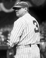 New York Yankees BABE RUTH Glossy 8x10 Photo Baseball Print Photograph