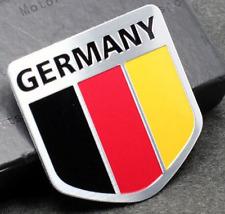 "ALUMINUM Germany Flag Emblem Sticker 3D Decal For Auto, Car, & Truck 2""x2"""