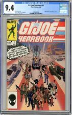 G.I. Joe Yearbook  #1  CGC  9.4  NM  White pgs  3/85 Back cover pin-up and cover