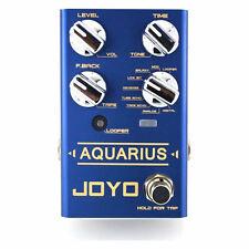 JOYO R-07 Aquarius Delay and Looper Guitar Effects Pedal Revolution R Series New