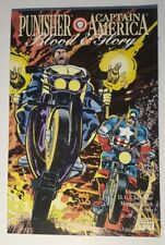 Marvel Blood and Glory Punisher / Captain America #2 (Nov 1992,)
