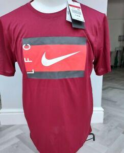 GENUINE  Liverpool Fc  Training T  Shirt Top MEN,S  Top 2021 NIKE  LARGE