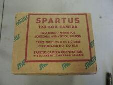 Vintage Spartus Model 120 Box Film Camera