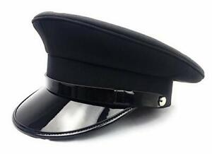 Chauffeur Hat Festival Hat Captain Military Hat,Rave Costume,Burning Man Army