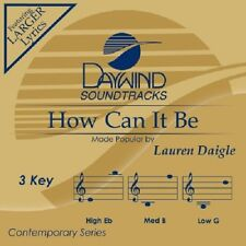 Lauren Daigle - How Can It Be - Accompaniment/Performance Track – New