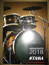 Tama Highlights 2018 brochure