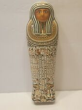 British Museum Egyptian Mummy Tin Box Hunkydory 1989 Souvenir Barnsley Canister