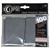 PRO-Matte Eclipse Grey Standard Deck Protector Card sleeves ct Ultra Pro 100ct