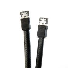 Wholesale 3FT eSATA to eSATA 7-Pin Shielded External Cable Cord OZ 70cm Black To
