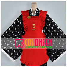 Cosonsen Amnesia Sawa Cosplay Costume Kimono Working Suit Maid Apron Dress