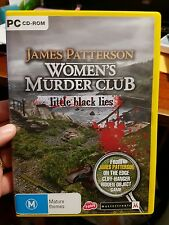James Patterson - Women's Murder Club - Little Black Lies - PC GAME - FREE POST