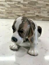 "Vintage Lladro Figurine 1071 ""Sad Puppy"" Retired 1990. Precious!"