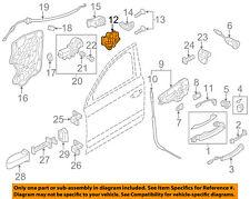AUDI OEM 11-17 A8 Quattro Front Door-Lock 4H1837016F