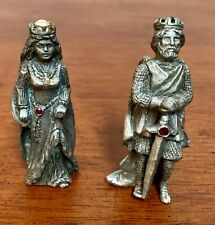 Pewter King & Queen