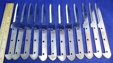 Lot of 12 New Tramontina INOX-Stainless Paring Knife Blade Blanks Brazil
