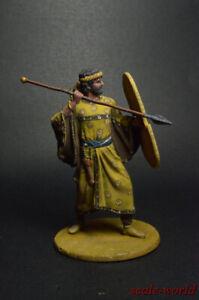 "Tin soldier figure Persian warrior of ""Immortals"" detachment, 6-5 century 54mm"