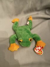 Ty Beanie Baby - Smoochy the Frog, Pvc Pellets