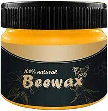 Cire d'abeille de Polissage, ZoneYan Wood Seasoning Beewax, Cire à Polir & Lust