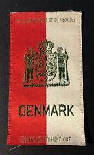 Vintage c1910 Denmark Richmond Straight Cut Cigarette Silk