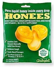 (4PK) Honees Cough Drops Honey 7.5mg 20CT 070650004031DT