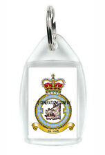 ROYAL AIR FORCE 501 COUNTY OF GLOUCESTER SQUADRON KEY RING (ACRYLIC)
