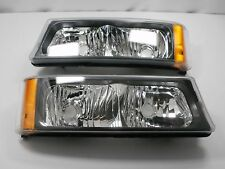 Parking Signal Lights Lamps PAIR 2003 2004 2005 2006 Chevy SILVERADO AVALANCHE