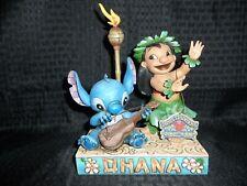 Disney Jim Shore LILO & STITCH Ohana Means Family Very RARE
