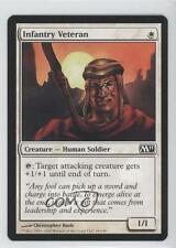 2010 Magic: The Gathering - Core Set: 2011 #18 Infantry Veteran Magic Card 0b5