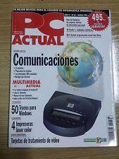 Revista PC Actual  Nº 62 marzo 1995  Vintage