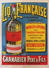 CHANABIER PERE & FILS, France, 1910, 250gsm A3 Poster