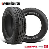 2 X New General Grabber HTS60 235/75R16 108S Highway All-Season Tire