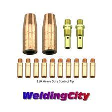 "MIG Welding Gun Kit .035"" Heavy Duty Tip-Diffuer-Nozzle Lincoln 100L Tweco | M3H"