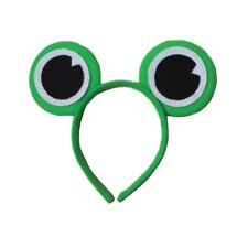 Green Frog Eyes Alice Hair Band Headband Ears Fancy Dress Party Hen Accessories