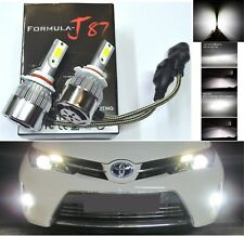 LED Kit C6 72W 9005 HB3 5000K White Two Bulbs Head Light High Beam Replacement